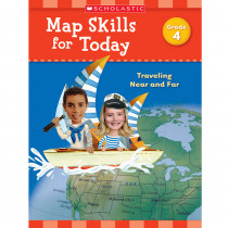 SC-821491 - Map Skills For Today Gr 4 in Geography