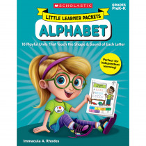 SC-823029 - Little Learner Packets Alphabet in Language Arts