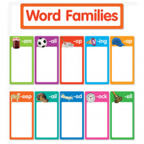SC-823627 - Word Families Bulletin Board in Language Arts