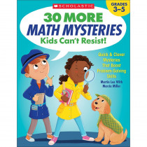 SC-825730 - 30 More Math Mysteries Kids Cant Resist in Activity Books