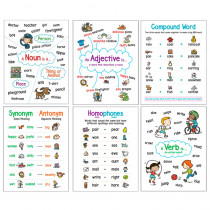 SC-827778 - Language Arts 6 Anchor Chart Chart Set in Miscellaneous