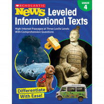 SC-828474 - Gr 4 Scholastic News Leveled Info Texts in Activities