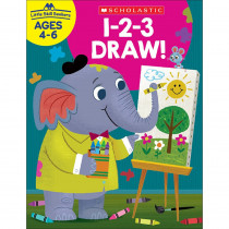 SC-830635 - Little Skill Seekers 1-2-3 Draw in Art Activity Books