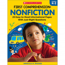 SC-831432 - First Comprehension Nonfiction in Comprehension