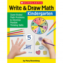 Write & Draw Math: Kindergarten - SC-831436 | Scholastic Teaching Resources | Activity Books