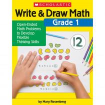 Write & Draw Math: Grade 1 - SC-831437 | Scholastic Teaching Resources | Activity Books