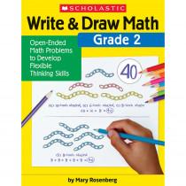 Write & Draw Math: Grade 2 - SC-831438 | Scholastic Teaching Resources | Activity Books