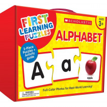 First Learning Puzzles: Alphabet - SC-863050 | Scholastic Teaching Resources | Alphabet Puzzles