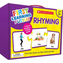 First Learning Puzzles: Rhyming - SC-863052 | Scholastic Teaching Resources | Puzzles