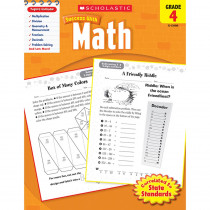 SC-9780545200684 - Scholastic Success With Math Gr 4 in Activity Books