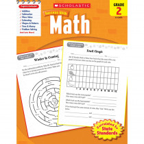 SC-9780545200707 - Scholastic Success With Math Gr 2 in Activity Books