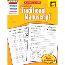 SC-9780545200738 - Scholastic Success With Traditional Manuscript Gr K-1 in Handwriting Skills