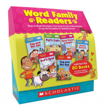 SC-9780545231480 - Word Family Readers Set in Learn To Read Readers