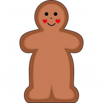 SE-101 - Notepad Large Gingerbread Man in Note Pads