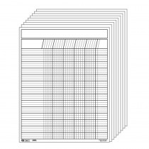 SE-357 - Vertical Incentive Chart Set White in Incentive Charts