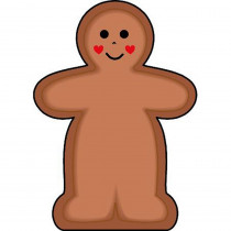 SE-761 - Notepad Mini Gingerbread Man in Note Pads