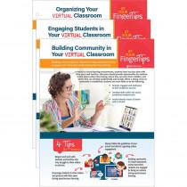 Virtual Classroom Basics At Your Fingertips Set of 3 - SEP126452 | Shell Education | Classroom Management