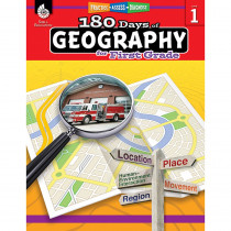 SEP28622 - 180 Days Of Geography Grade 1 in Geography