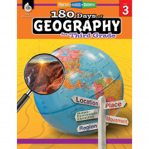 SEP28624 - 180 Days Of Geography Grade 3 in Geography