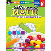 SEP50803 - 180 Days Of Math Gr K in Activity Books