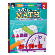 SEP50805 - 180 Days Of Math Gr 2 in Activity Books