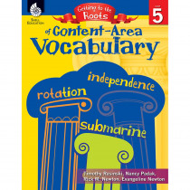 SEP50865 - Vocabulary Gr 5 Getting To The Roots Of Content Area in Vocabulary Skills