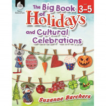 SEP51048 - The Big Book Of Holidays And Cultural Celebrations Gr 3-5 in Cultural Awareness