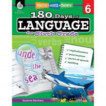 SEP51171 - 180 Days Of Language Gr 6 in Language Skills