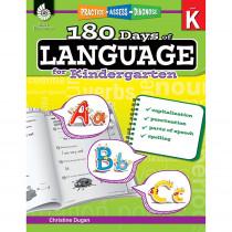 SEP51172 - 180 Days Of Language Gr K in Language Skills