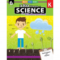 SEP51406 - 180 Days Of Science Grade K in Activity Books & Kits