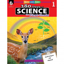 SEP51407 - 180 Days Of Science Grade 1 in Activity Books & Kits