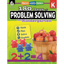 SEP51612 - 180 Day Problem Solving Gr K Workbk in Books