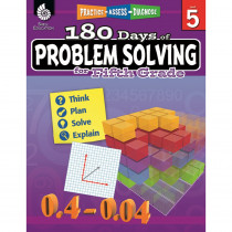 SEP51617 - 180 Day Problem Solving Gr5 Workbk in Books