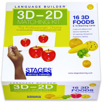 SLM007 - Lang Build 3D�2D Matching Kit Foods in Activities