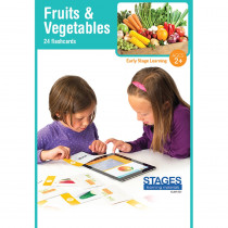 SLM1521 - Link4fun Fruits/Veggies Cards in Language Arts