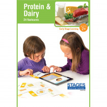 SLM1522 - Link4fun Protein/Dairy Cards in Language Arts