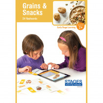SLM1523 - Link4fun Grains/Snacks Cards in Language Arts