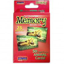 SLM220 - Animals Photographic Memory Matching Game in Language Arts