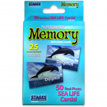 SLM222 - Sea Life Photographic Memory Matching Game in Language Arts