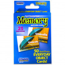 SLM227 - Everyday Objects Photographic Memory Matching Game in Language Arts