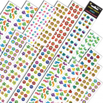 SLSTEPJVQ - Jumbo Variety Assortment Q in Stickers