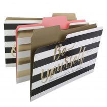 SuperTab Fashion Folders, Pack of 6 - SMD11954 | Smead Manufacturing Company | Folders