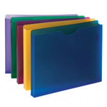 SMD89610 - Smead Poly Expanding File Pockets Jackets 1 Expansion 10 Pack in Folders