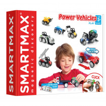 SmartMax Power Vehicles - Mix - 26 Pieces - SMX303US | Smart Toys And Games, Inc | Vehicles