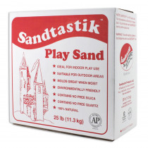 SND025 - Sandtastik White Play Sand 25Lb Box in Sand