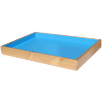 SNDPLATRAYPINE - Sandtastik Ocean Blue Therapy Sand Tray in Sand & Water