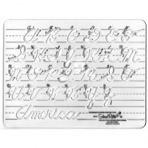 SR-3261 - Template Cursive Uppercase 1 Letters in Handwriting Skills