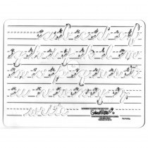 SR-4261 - Template Cursive Lowercase 1 Letters in Handwriting Skills