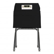 SSK00117BK - Seat Sack Large 17 In Black in Storage