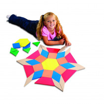 STP20366 - Giant Soft Foam Floor Pattern Blocks in Blocks & Construction Play